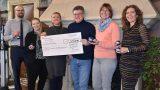 550 Euro für den Kinderhilfsverein</br>Stadtmarketing spendet Erlöse aus Verkauf der Weihnachtskugeln