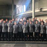 Beermann empfängt 45 Offiziere