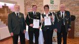 Manfred Fette weitere drei Jahre Vorsitzender</br>Ehrennadeln in Silber für Christine Alder und Marvin Wiebke