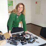 Katja Keul sammelt weiter Althandys