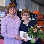 Manuela Iburg feiert Jubiläum</br>25 Jahre Mitarbeiterin bei Quick Schuh Schulze