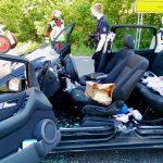 Schwerer Unfall auf B 83