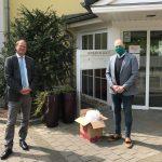 200 Mund-Nasen-Schutzmasken für Pflegeheim</br>Rotary Club unterstützt Herminenhof