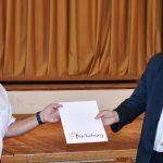 Urkunde und Glückwünsche für Reiner Wilharm