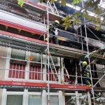 Wohnungsbrand</br>Großeinsatz für Feuerwehr