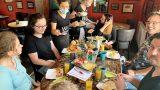 """Ofenfrische Croissants mit Kaffee</br>Frühstücksbüfett am Sonntag im """"Minchen"""""""