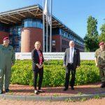 Brigadegeneral informiert Bundestagsabgeordnete über Herausforderungen