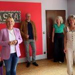 Völlers (MdB) und Becker (MdL) besuchen BASTA Mädchen- und Frauenberatungszentrum
