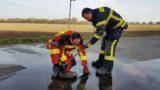 Ortsfeuerwehren überprüfen Hydranten