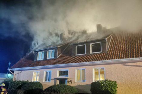 Großeinsatz für die Feuerwehr</br>Eine Person aus lebensbedrohlicher Lage gerettet