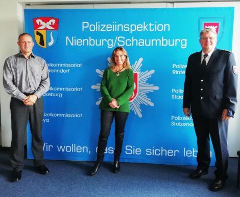 """""""Polizisten in Schaumburg sind demokratiefest""""</br>Katja Keul (MdB) im Gespräch mit Mathias Schröder"""