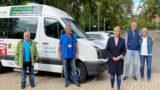 """""""Für kleines Geld Mobilität für alle""""</br>Völlers (MdB) informiert sich über Anrufbus"""
