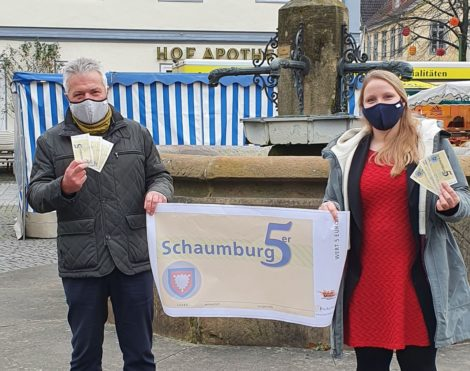 Schaumburg 5er:</br>Geld verschenken – Kaufkraft bleibt in Schaumburg