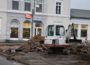 Erneuerung Bahnhofsvorplatz</br>Baumaßnahme dauert bis Mitte Dezember und kostet rund 80.000 Euro