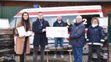 """""""Können jetzt professioneller arbeiten""""</br>Dennis Roloff unterstützt DRK-Ortsverein mit 2.000-Euro-Spende"""