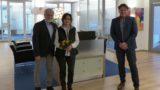 VR-Gewinnsparen</br>Volksbank-Kunde Hans-Heinrich Gümmer gewinnt VW e-up