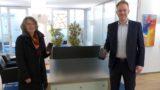 Erika Doll gewinnt ein iPhone</br>VR-Gewinnsparen der Volksbank in Schaumburg