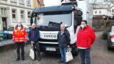 DRK Ortsverein:</br>Blutspende Nr. 100 für Martin Hohl und Friedhelm Hötzel