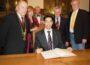 Es geschah vor zehn Jahren:</br>Ratsempfang für Dr. Philipp Rösler