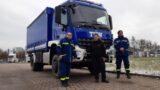 """THW-Ortsverband:</br>Einweisungsfahrt mit neuem """"Heros Bückeburg 38/43"""" durch Schaumburg"""