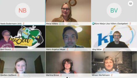 Völlers hat Jugend im Fokus</br>Digitales Treffen mit Vertretern der Kreisjugendringe