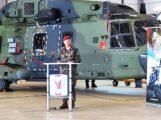 Inspekteur des Heeres stellt Kommando Hubschrauber in Dienst