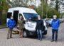 """Neues Fahrzeug für den Anrufbus </br>""""Impffahrten sind ein Segen und helfen dem Verein"""""""
