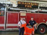 Samariter aus Bückeburg besucht Feuer- und Rettungswache in Schaumburg/Illinois (USA)