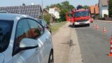 Defektes Fahrzeug – Feuerwehreinsatz
