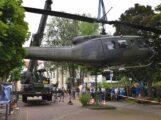 Spektakulärer Exponatewechsel im Hubschraubermuseum