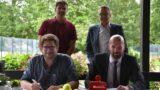 Zwei nationale Jugendturniere</br>Tennisverein und Sparkasse erweitern Kooperation