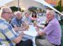 """Sonne, gutes Essen und Freunde treffen </br>Zwei Tage Besucheransturm bei """"Schäferhof kocht über"""""""