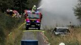 Flächenbrand im Wald </br>Jahresübung der Stadt-Feuerwehren