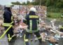 Brandeinsatz auf Gelände der AWS