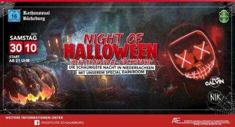 Halloween-Night im Rathaussaal </br>Zombies und Monster dürfen endlich wieder raus!