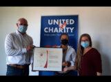 DRK zu Besuch bei United Charity