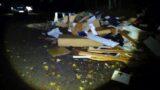 Müllentsorgung im Harrl